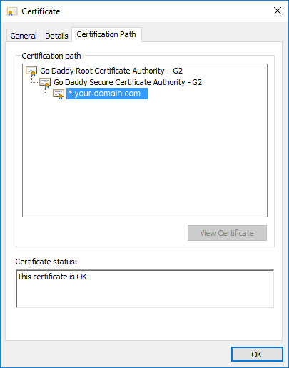 10  Setting up HTTPS (GoDaddy™ example) — Intella Connect